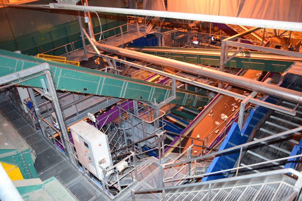 Romainville (France) Materials Recovery Facility