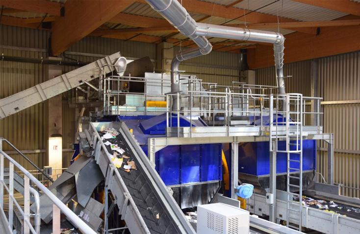 CALITOM (Mornac, France) Materials Recovery Facility
