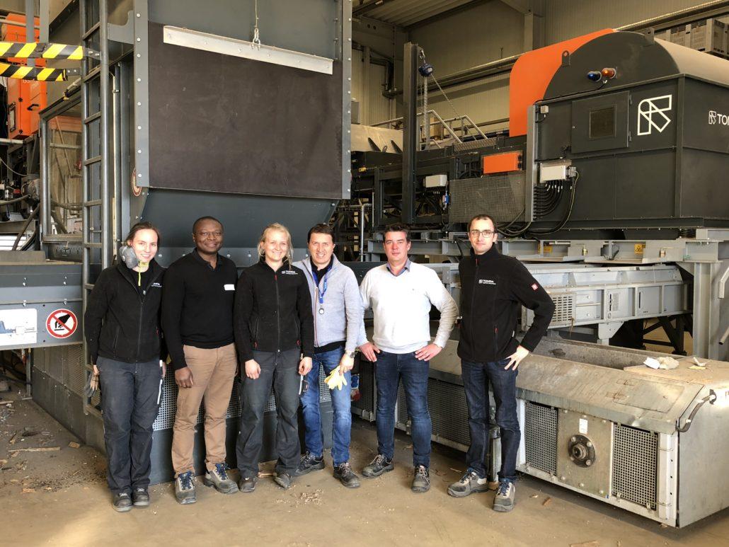 Ar-Val et TOMRA testent le séparateur optique AUTOSORT PERFORMANCE